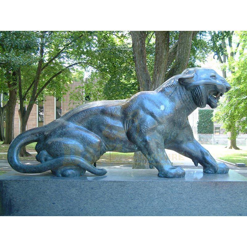 Life-Size Bronze Tiger Statue Bronze Sculpture For Sale