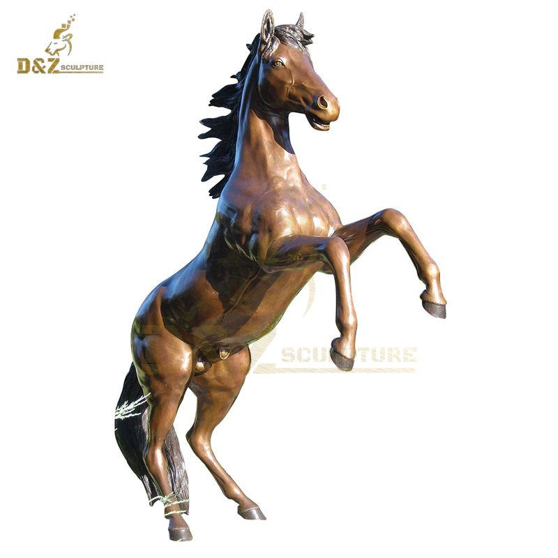 Garden Decoration Art Bronze Horse Sculpture Animal Bronze Statue