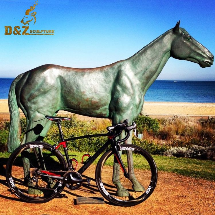 Factory life size bronze animal sculpture bronze horse statue for sale