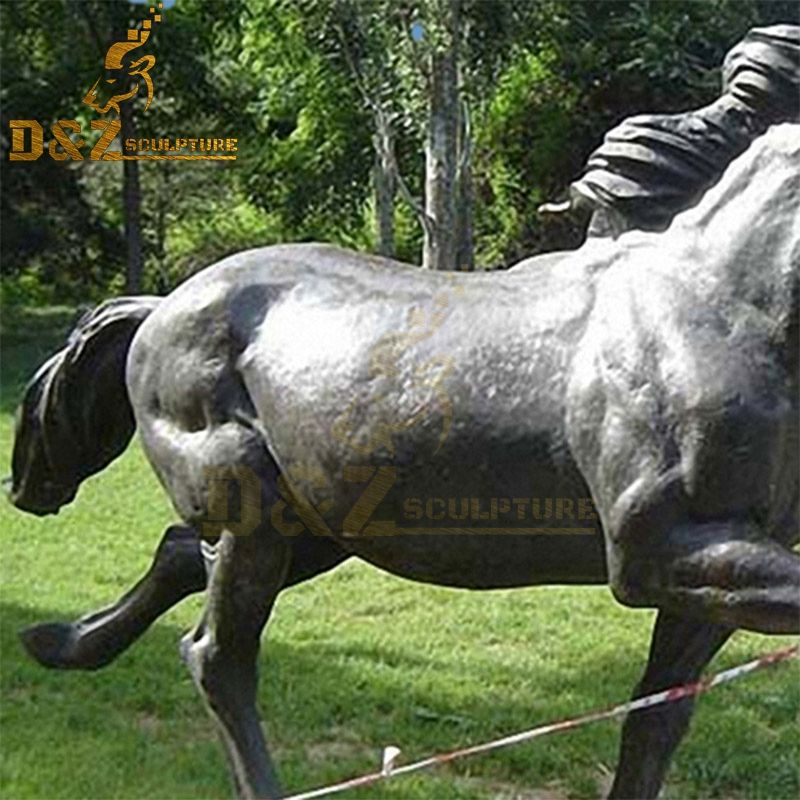 horse decor sculptures