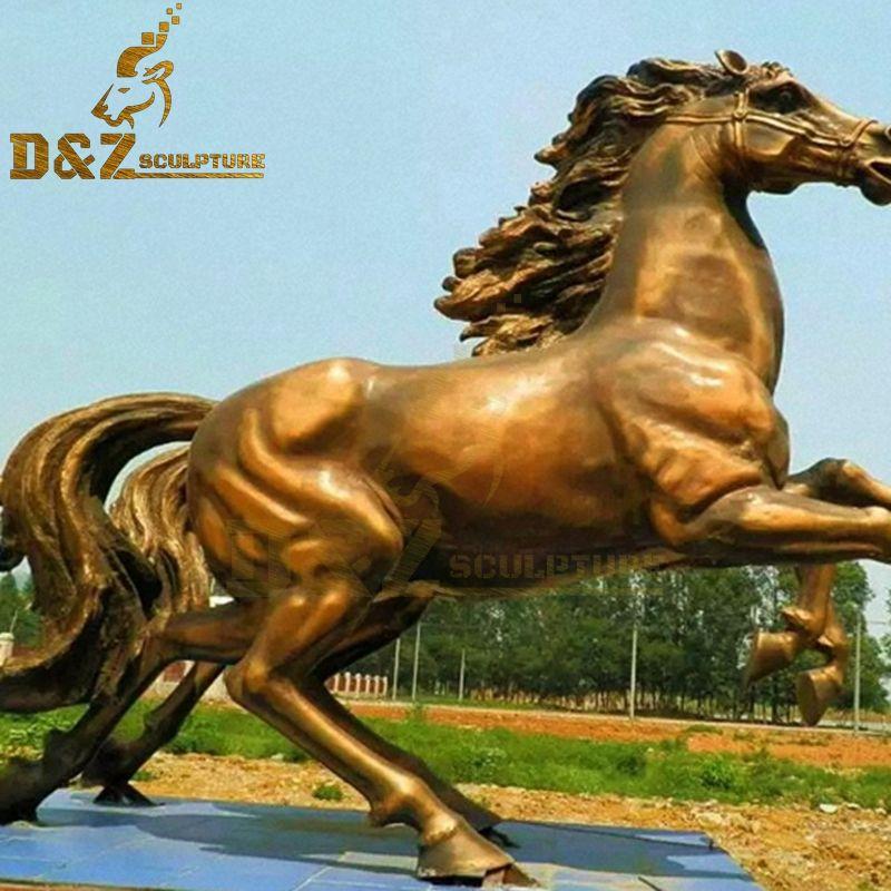 big bronze horse statues
