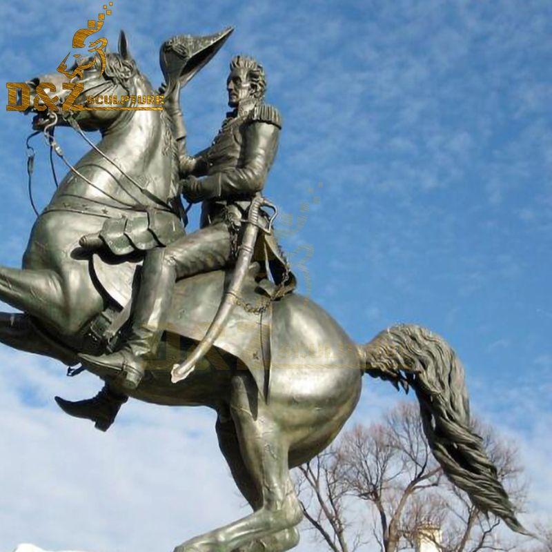 famous bronze horse sculpture