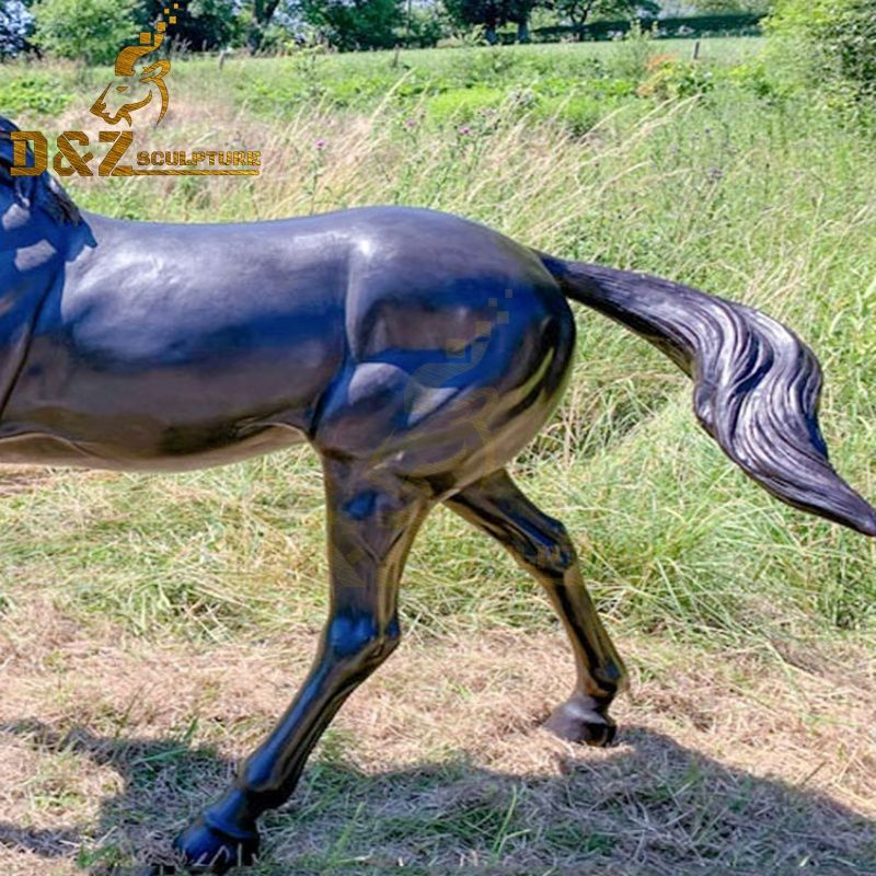 large horse statue