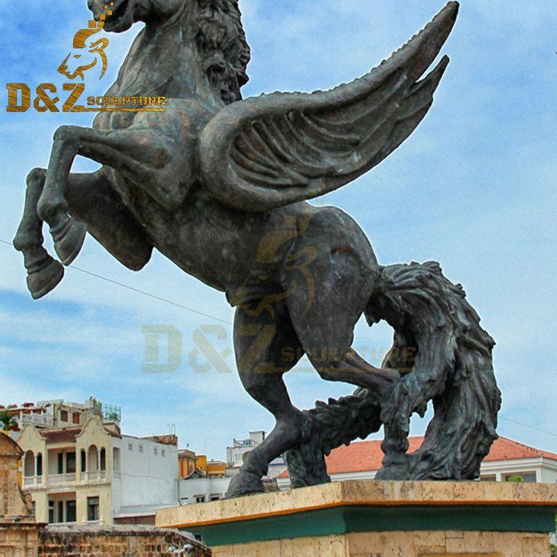 bronze chinese horse