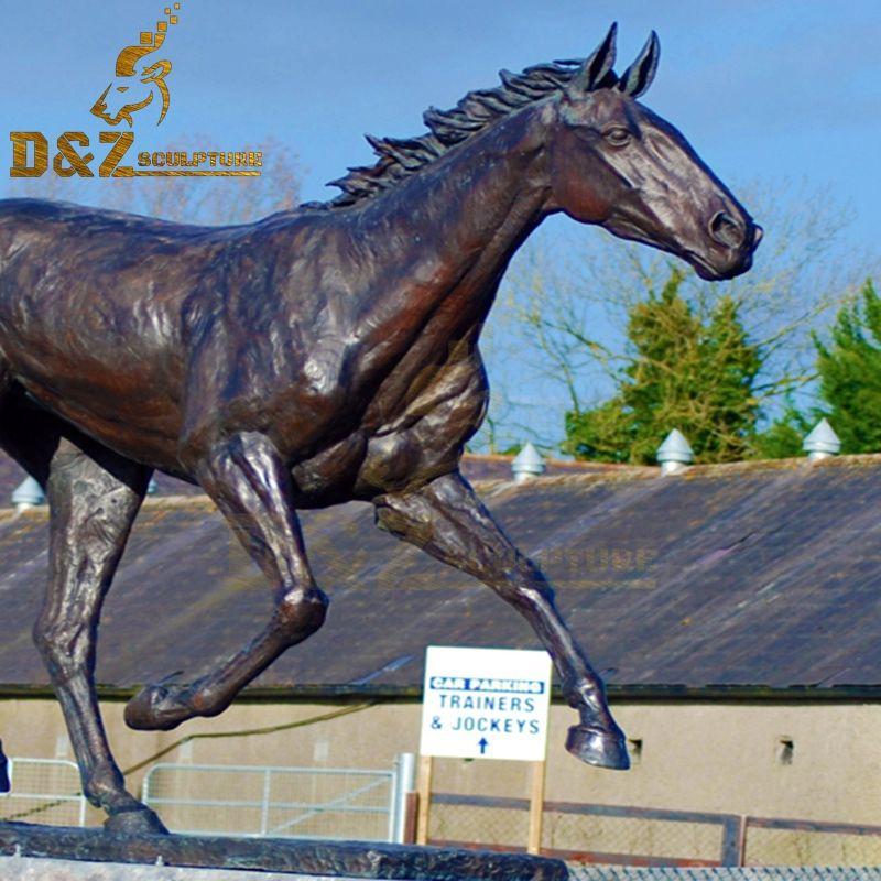 metal art horse
