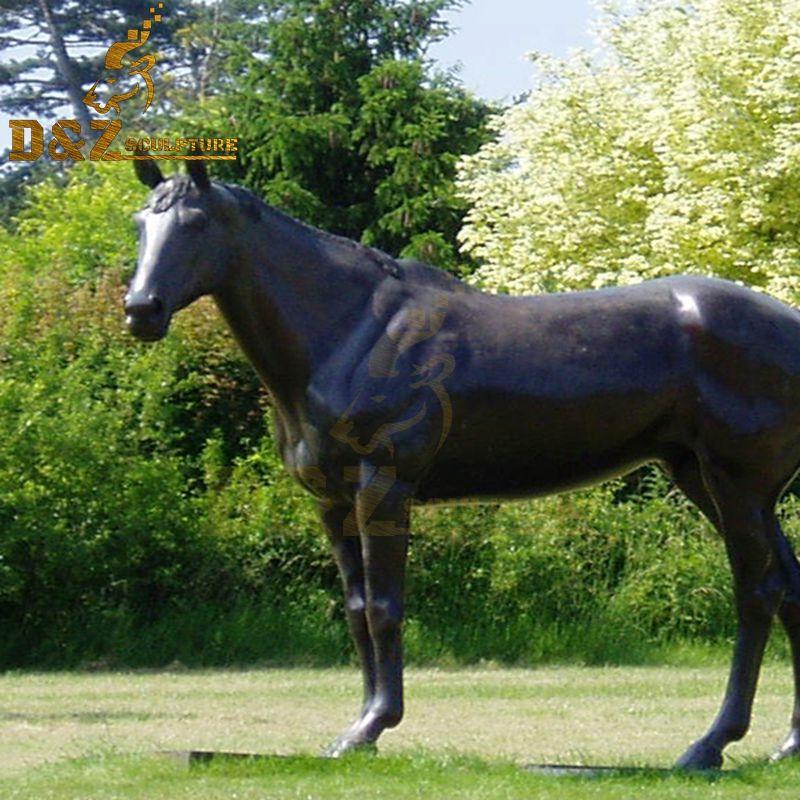 metal horse bronze sculptures