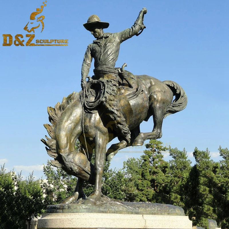 High quality outdoor bronze running horse sculptures for garden decor for sale
