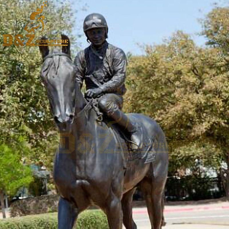 racing statue