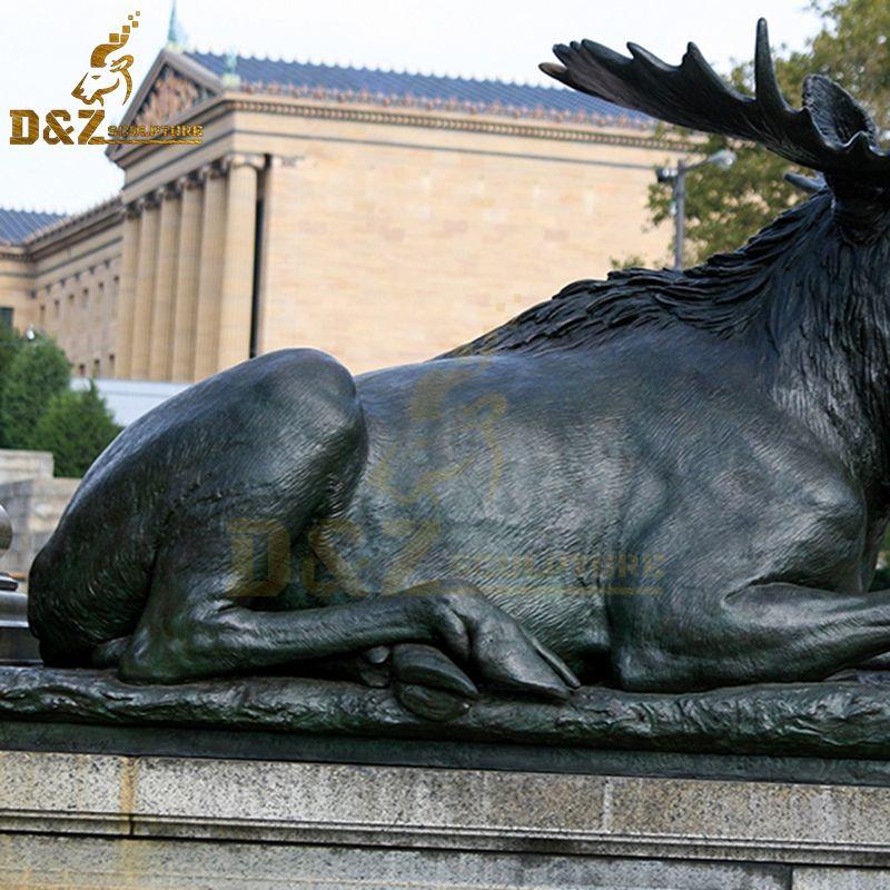 moose yard statue