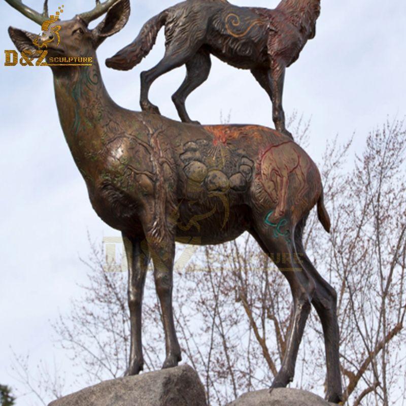 deer statue australia