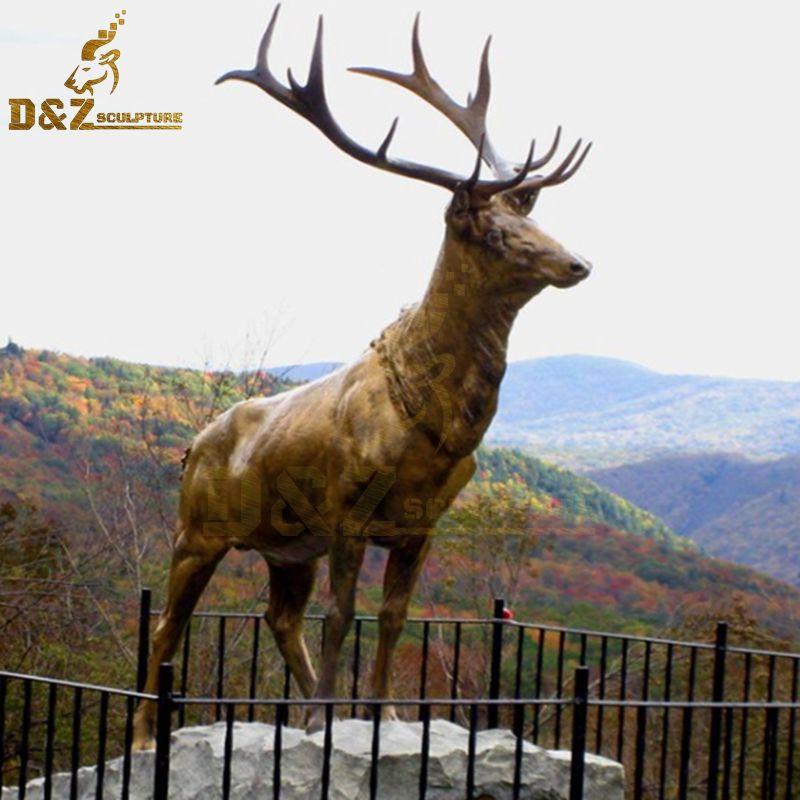 reindeer statues outdoor
