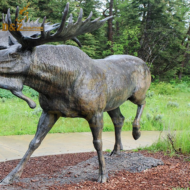 moose statues for sale