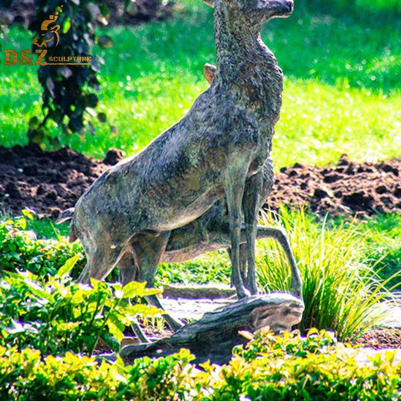 bronze elk for sale
