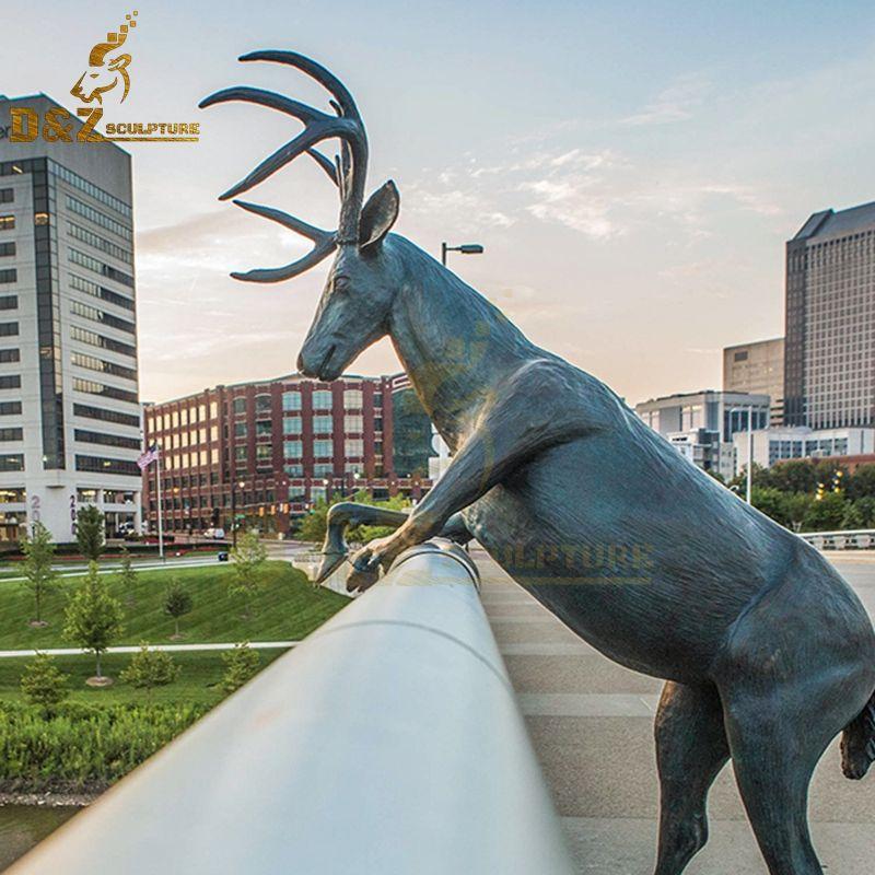 deer sculpture life size