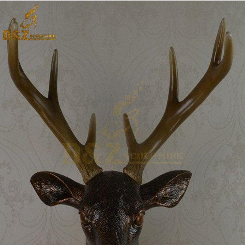 abstract deer sculpture