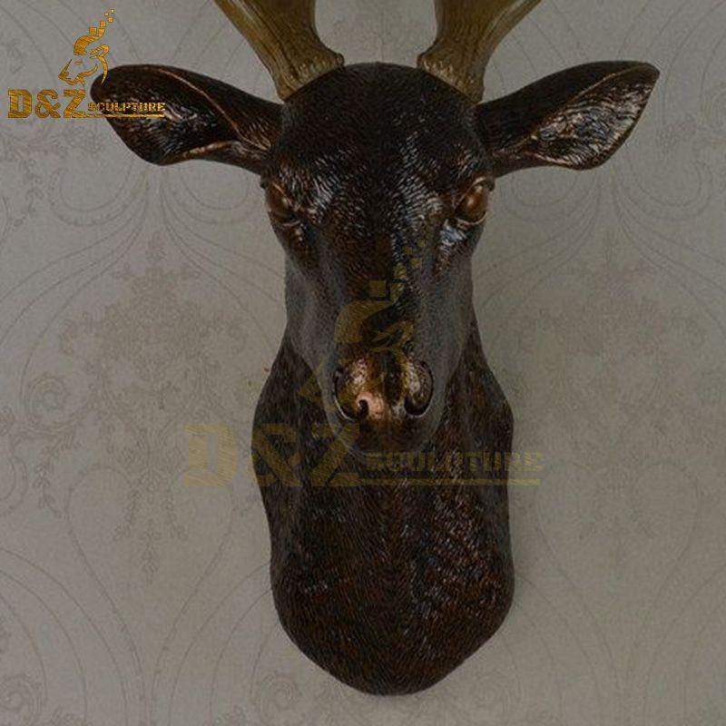 deer statue indoor