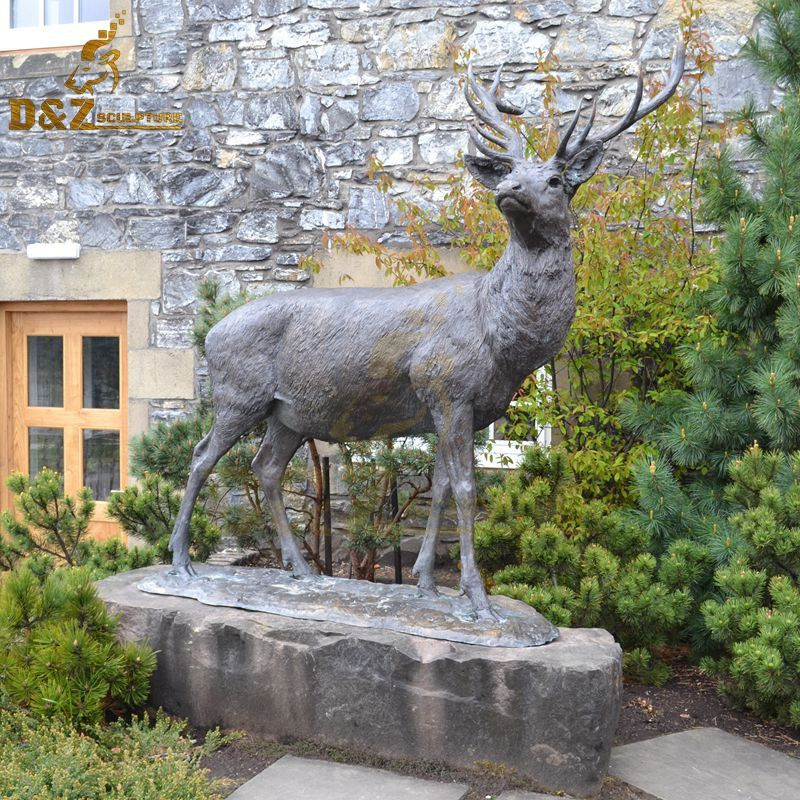 deer statues for the yard