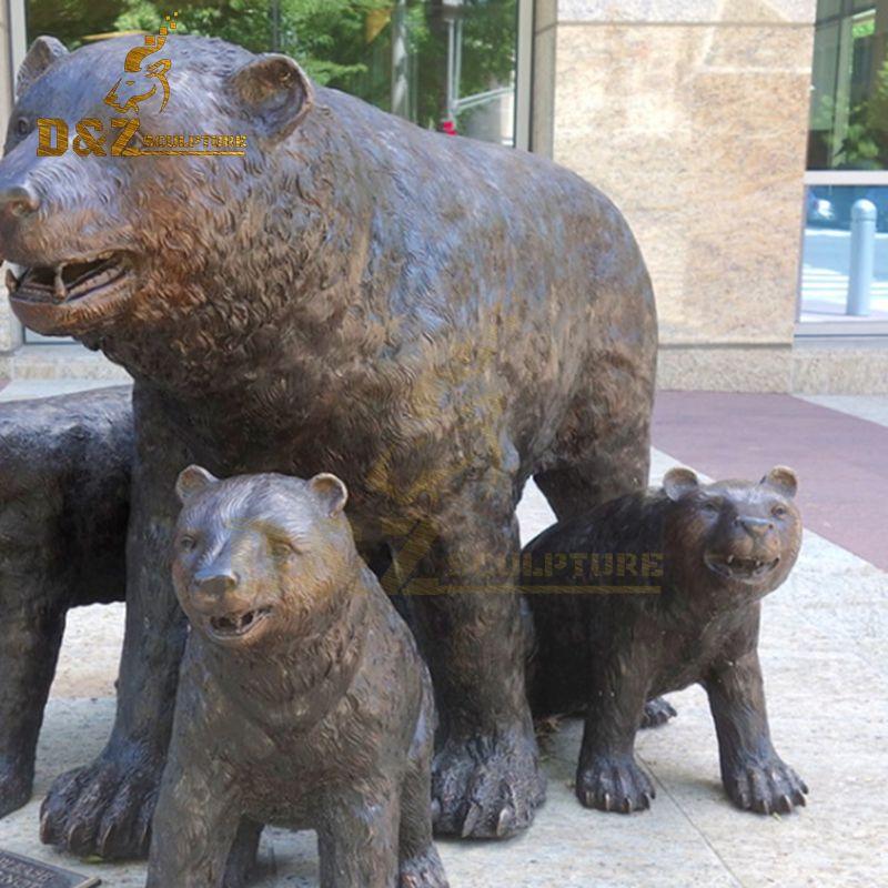 statues bear