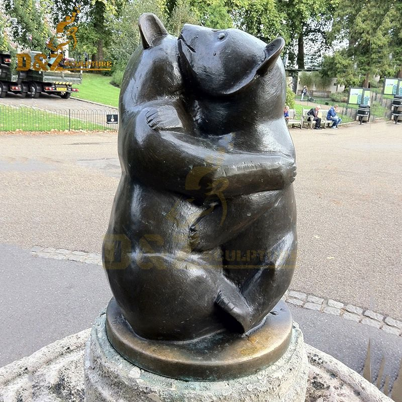 outdoor bear statues