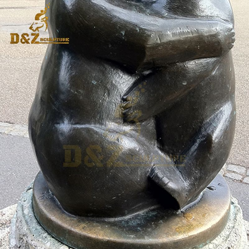 bear hug sculpture