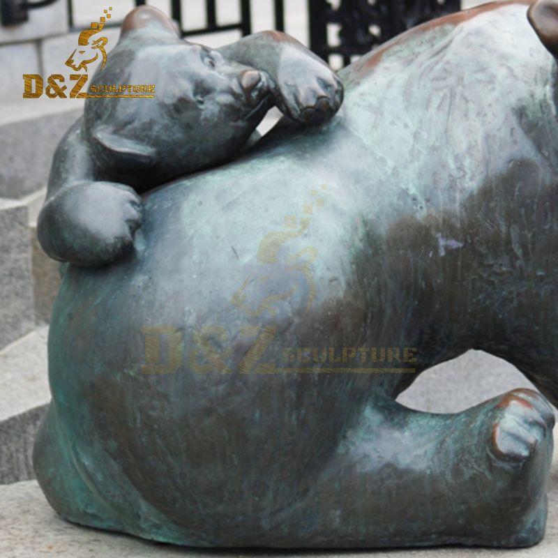bear statue garden