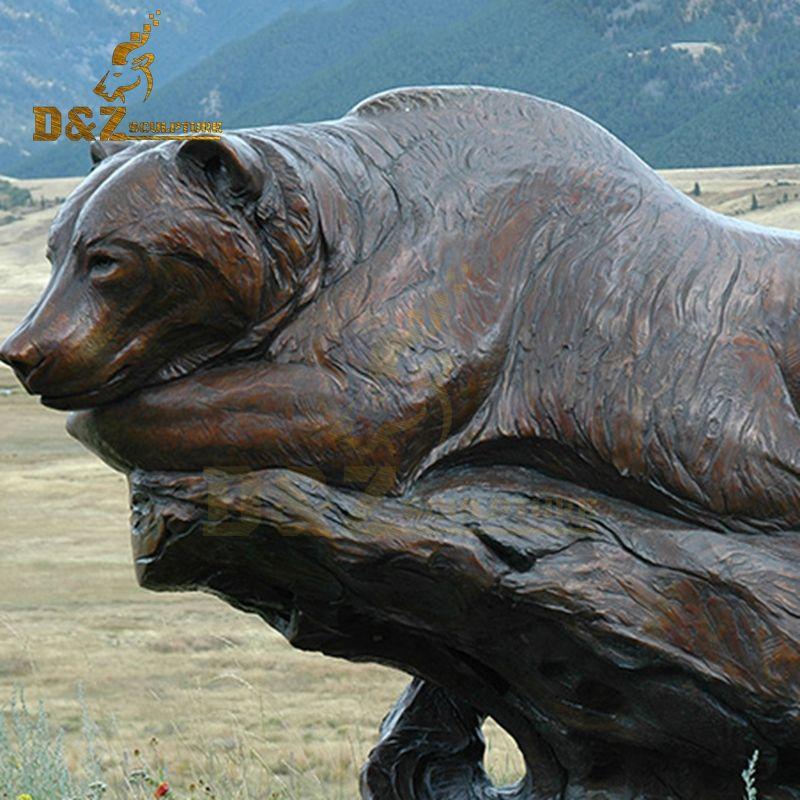 bear statue art