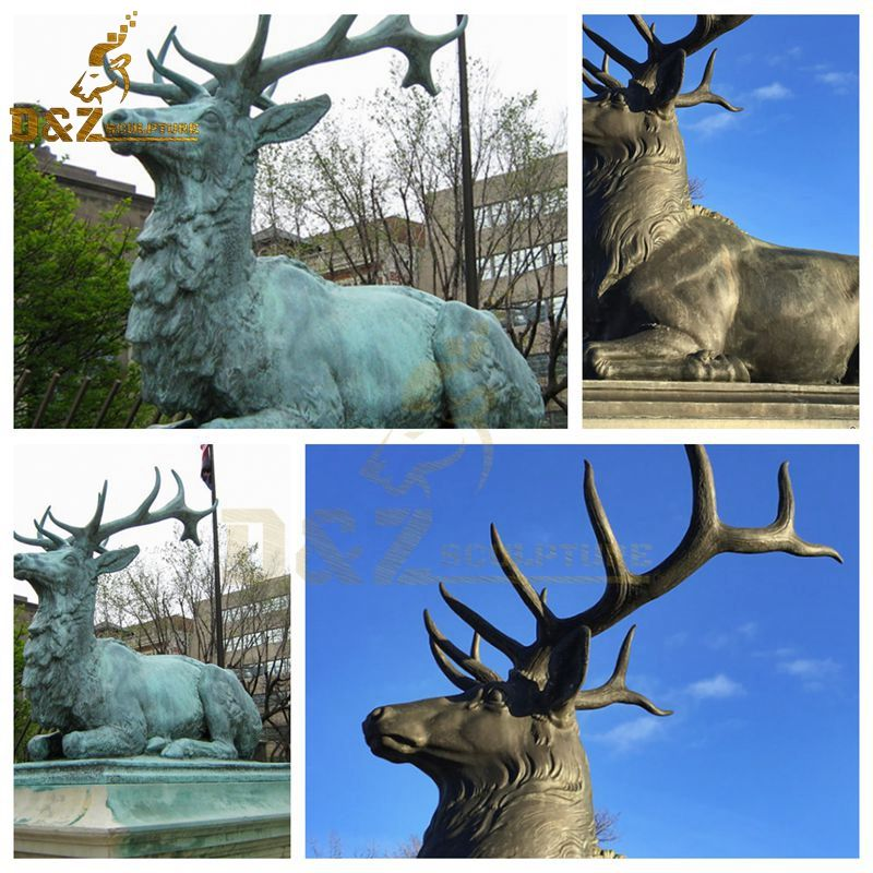 stag statue for sale