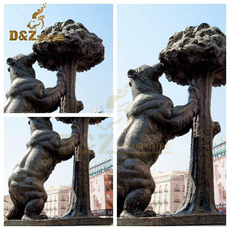 large bear sculpture
